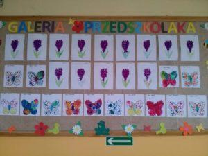 Wiosenne prace przedszkolaków