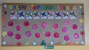 Kolorowe prace przedszkolaków
