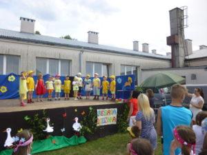 Festyn – występ przedszkolaków