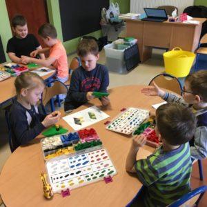 Warsztaty klocków bricks 4 kidz w przedszkolu