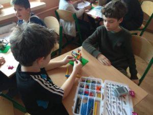 Warsztaty klocków bricks 4 kidz w klasach I – III