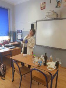 Lekcja przyrody w klasie VI