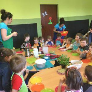 Warsztaty kulinarne w przedszkolu
