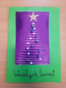 Najpiękniejsza kartka świąteczna-wyniki konkursu